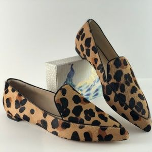 Cole Haan Brie Leopard Print Skimmers